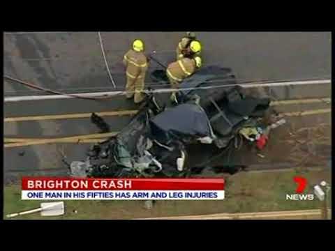 Horrific Crash In Brighton Australia