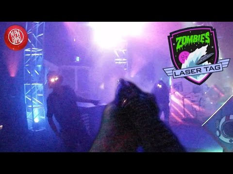 Zombies In Spaceland Laser Tag! (COD XP 2016)