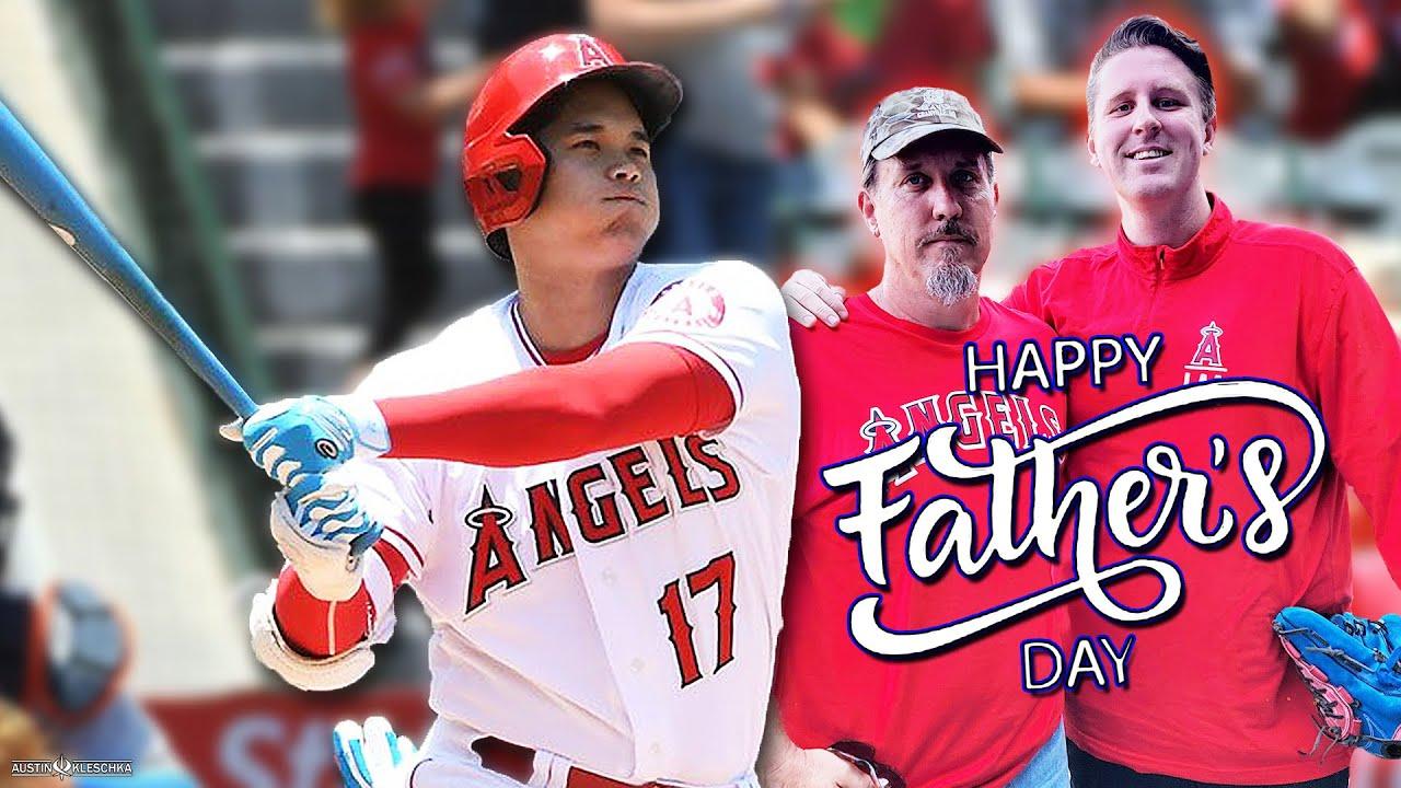 SHOHEI TIES THE MLB HOME RUN LEAD ON FATHER'S DAY! | Kleschka Vlogs
