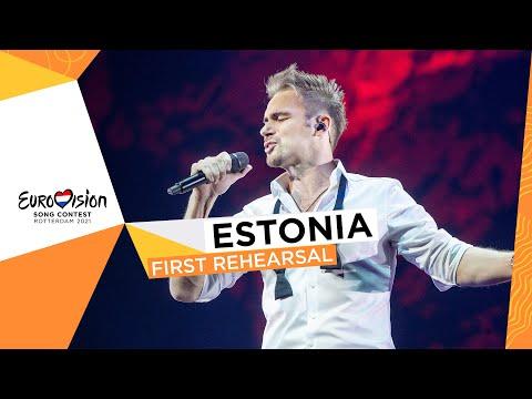 Uku Suviste - The Lucky One - First Rehearsal - Estonia ?? - Eurovision 2021