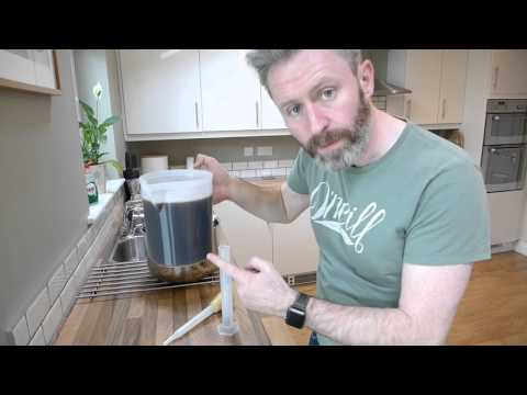 1 Gallon Small Batch Home Beer Brewing Instructions Part 2 - The Sparge