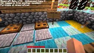 Minecraft, mise en scène de plusieurs système redstone. [FR]