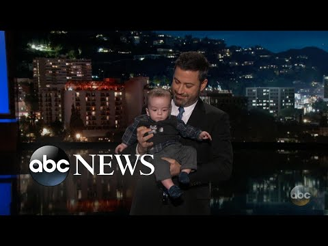 Download Youtube: Kimmel brings son on show in health care plea