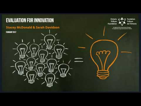 Evaluation for Innovation - OTF Webinar February 2017