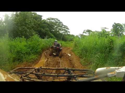 Quad bike trek in Vanuatu