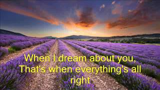 when i dream about you video w/ lyrics by Stevie B