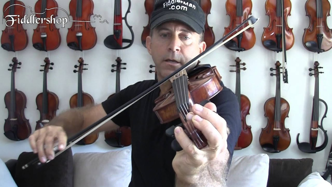 Tuning Your Violin using One Hand While Playing Open Strings