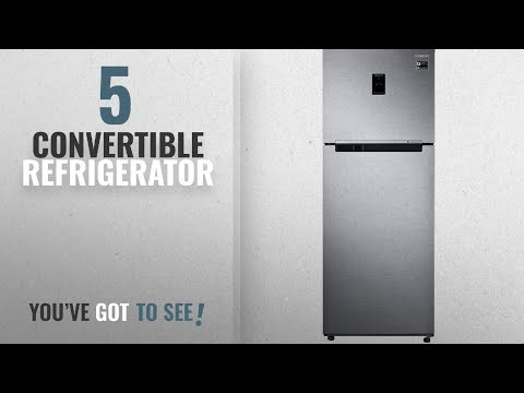 Top 10 Convertible Refrigerator [2018]: Samsung 415 L 4 Star Frost-free Double Door Refrigerator