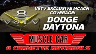 1970 Dodge Daytona - 2012 Muscle Car & Corvette Nationals MCACN Video Coverage V8TV