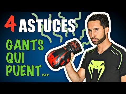 4 astuces pour entretenir ses gants de boxe