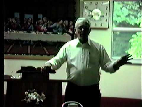 Elders Nolan Queen & Richard Damron Preaching Revival - Brush Creek United Baptist 1989
