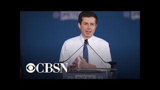 2020 candidate Pete Buttigieg making campaign documentary