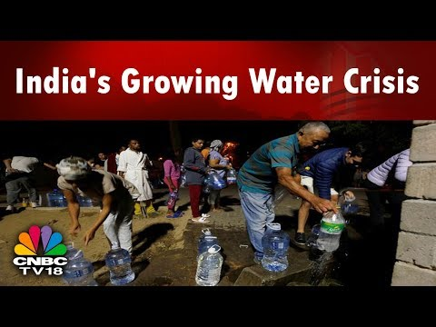 India's Growing Water Crisis | Delhi's Water Crisis | Reporter's Diary | CNBC TV18