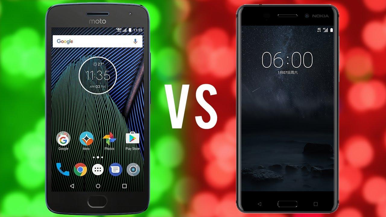 Moto G5s Plus vs. Nokia 6 - Comparision