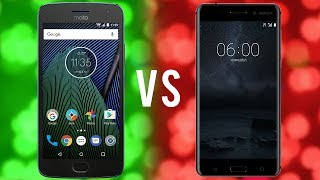 NOKIA 6 VS MOTO G5 PLUS ! Performance, Battery and Camera Comparison