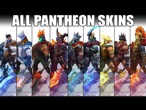 All Pantheon Skins Spotlight 2020 (League of Legends)