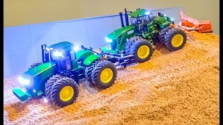 AWESOME BIG RC TRACTOR ACTION!