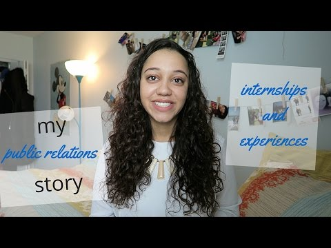 My Public Relations Story