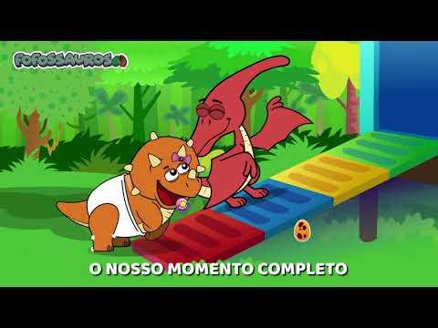 Clipe Música Infantil - NO PARQUINHO COM OS FOFOSSAUROS