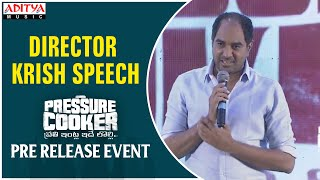 Director Krish Speech @ Pressure Cooker Movie Pre Release Event - yt to mp4