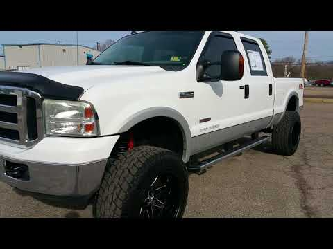 Lifted 2006 Ford F-250. Bulletproofed 6.0 diesel. Tons of upgrades