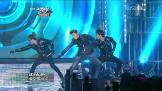 [HD] 121221 DBSK (東方神起) - Humanoids @ Music Bank XMas special