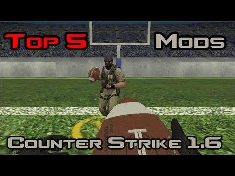 Топ 5 Моды из Counter Strike 1.6