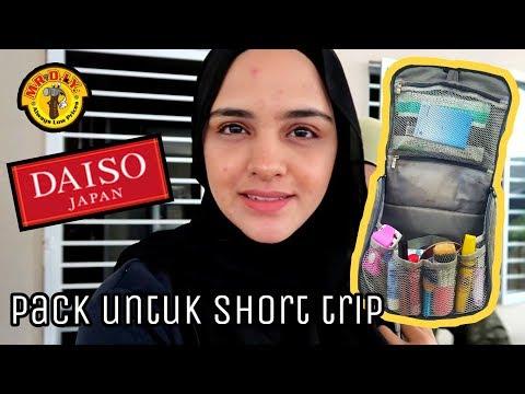 Apa Aisyah pack untuk travel (+ hack & tips)✈