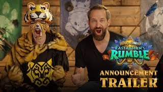 Rastakhan's Rumble Announcement Trailer | Hearthstone