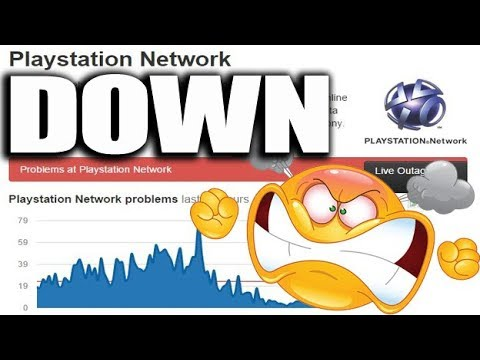PSN DOWN TODAY 😡 December 2018 Locked out of my PS4 GAMES