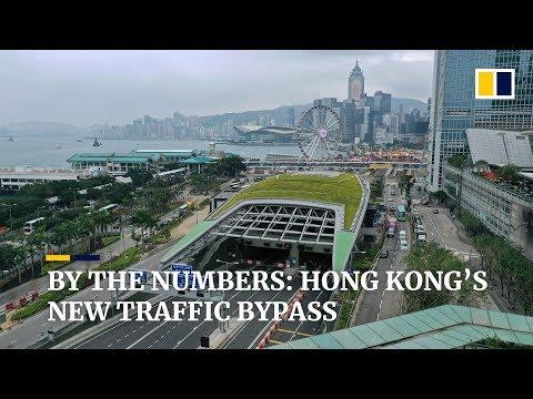 Hong Kong's HK$36 billion Central-Wan Chai bypass opens to public