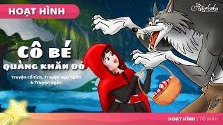 Cô bé quàng khăn đỏ (Mới) câu chuyện cổ tích - Truyện cổ tích việt nam - Hoạt hình cho Trẻ Em