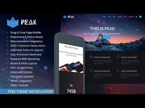 InfiniteBuilder - Columns and padding with Peak WordPress Theme by Infinitegrids