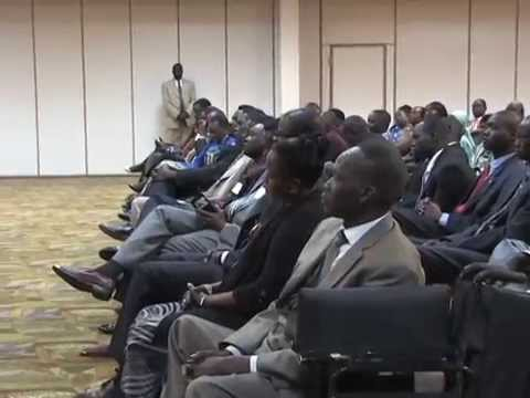 (Video 2 of 2): Dr. Riek Machar briefing in Kansas City, MO.
