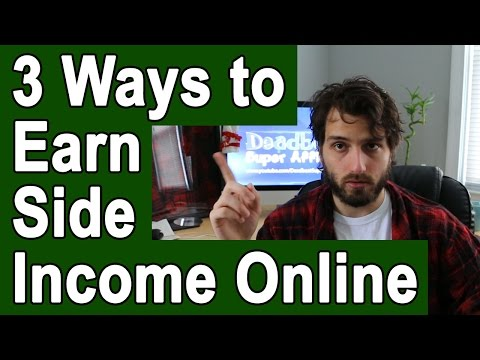 3 Legit, Real Ways To Make Money Online On The Side