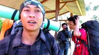 Asyik.. perjalanan ke Gunung Andong lanjut air terjun Selo Projo ...