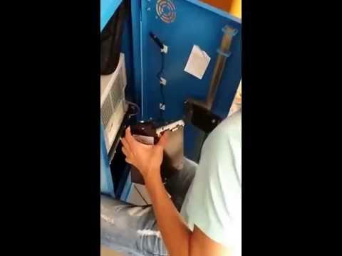 Автомат для печати фотографий из инстаграм.Инкассация