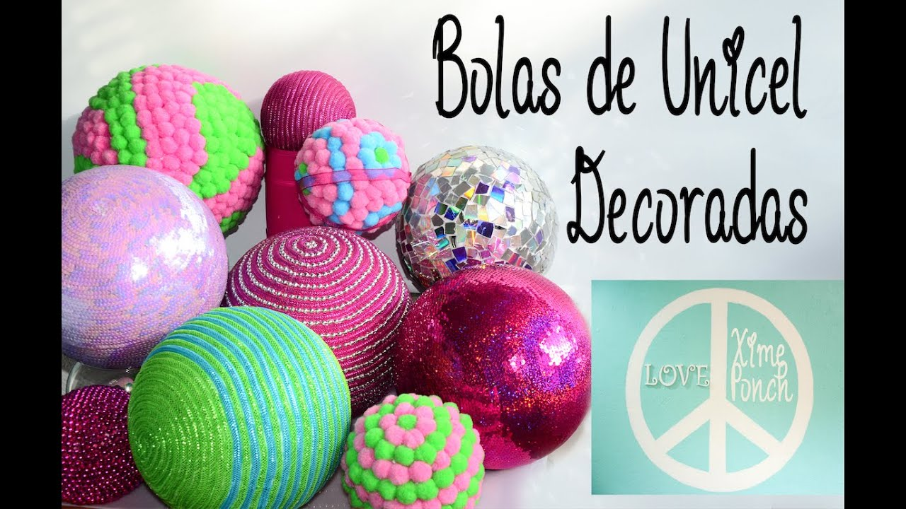 Bolas De Poliespan Decoradas Xime Ponch. Bolas De Unicel Decoradas. Selena Gomez. Video
