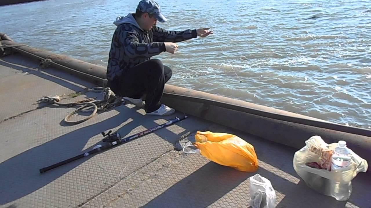 Рыбалка на азовском море 2014