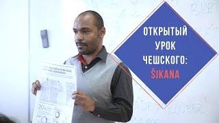 Открытый урок чешского языка: Šikana I Prague Education Center в Праге