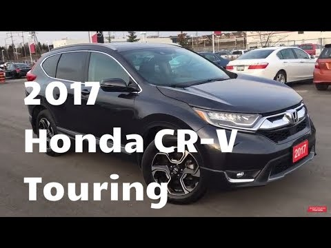 2017 Honda CR-V Touring | WHITBY OSHAWA HONDA | Stock #: U6266