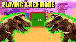 Playing Jailbreak as T-REX DINOSAUR!!! | Roblox Jailbreak