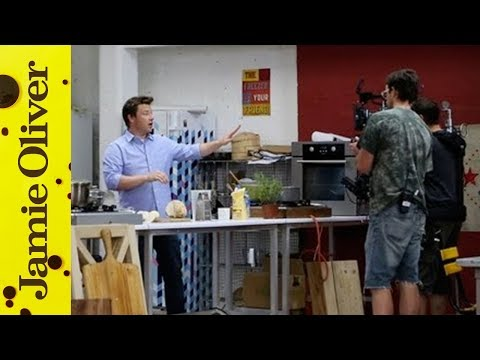 Behind the Scenes at Money Saving Meals with Jamie Oliver
