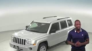 C97145RP - Used, 2010, Jeep Patriot, Sport, 4WD, Silver, SUV, Test Drive, Review, For Sale -