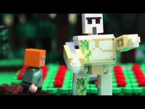 Go, Go Golem!  LEGO Minecraft  Classic Tales Episode 1