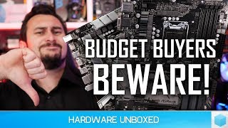 Are Budget Z390 Motherboards a Scam? VRM Thermal Test