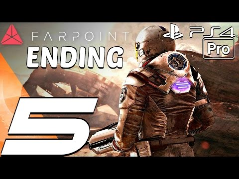 FARPOINT - Gameplay Walkthrough Part 5 - Final Battle & Ending (PS4 PRO)