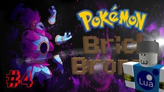 Roblox: Pokemon Brick Bronze | Episode 4 | BEATING GYM AND MORE!!!