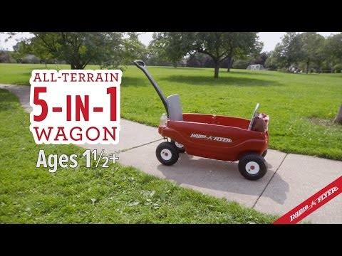 Radio Flyer All Terrain 5 In 1 Wagon