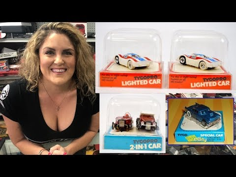 Storage Wars Boxed Slot Cars Tyco Riggins From $300 Storage Unit